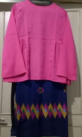 Baju kondangan pesta kain #mauvivo
