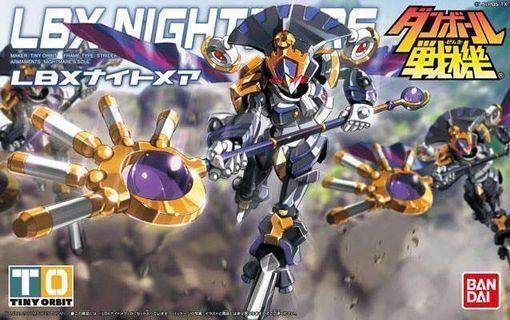 全新未砌 LBX 紙箱戰機 nightmare 夢魔 惡夢 小丑 hg rg mg 高達模型 Gundam bandai 017