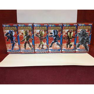 CRANEKING WCF Iron Man Vol.2 全新 盒蛋 1套6款 不散賣
