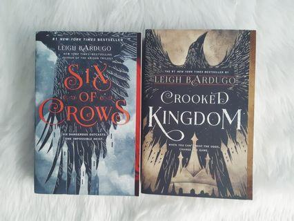 TPB SET: Six of Crows + Crooked Kingdom by Leigh Bardugo