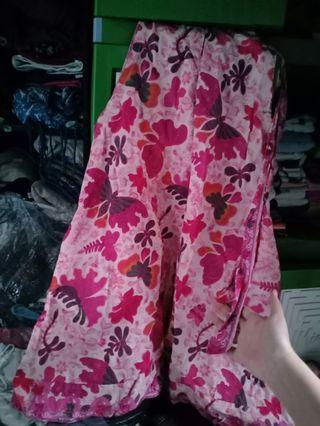 Mididress batik sleeveless