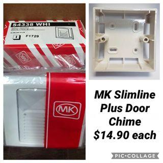 VESAK DAY PROMOTION!!! MK Slimline Plus Battery Operated Melodies Door Chime. 32 Selectable Melodies.