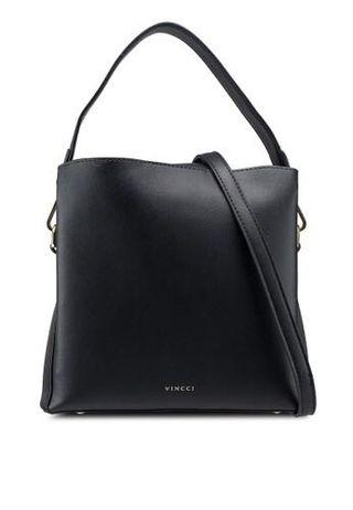 Vincci Bag with Two straps in Black