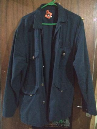 Parka / Canvas Jacket Navi Humblezing