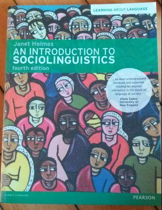 (99%new) An introduction to Sociolinguistics (4th ed.), Janet Holmes
