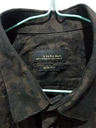 ZARA MAN (Army Black Tae Slim Fit) 💯✔ Original