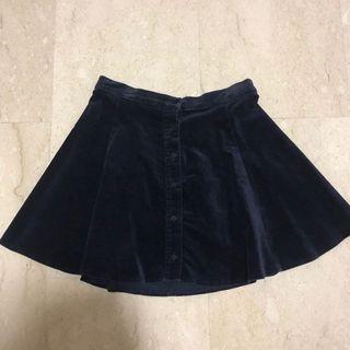Brandy melville Velvet Skirt
