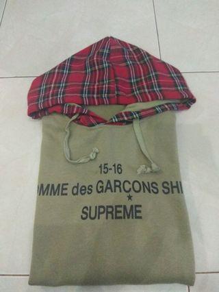 Hoodie Supreme x CDG