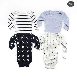 Take All baju jumper bayi 4 pcs