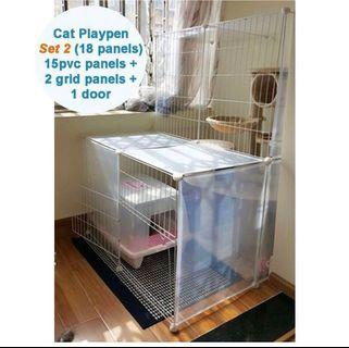 Cat Villa / Playpen / Cage for 2-5 cats or kittens