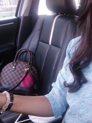 Louis Vuitton Alma , handbag , tas wanita, tas lv
