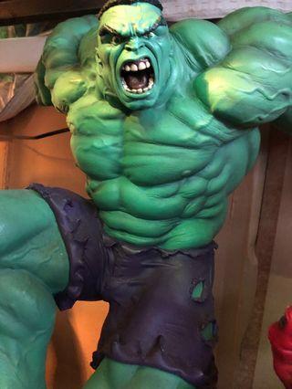 Sideshow 1:4hulk 綠巨人雕像