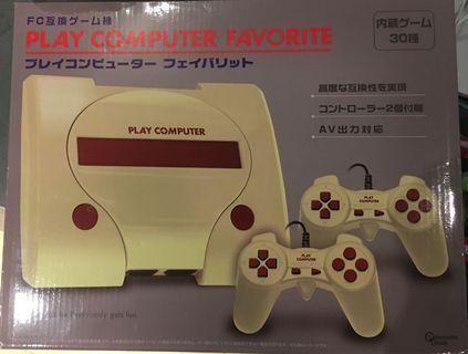 日本FC 8bit 電視遊戲機