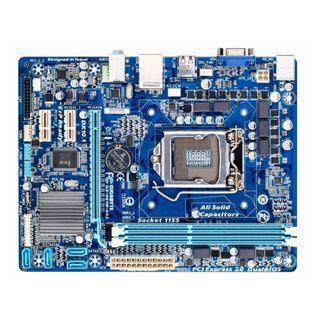 技嘉GA-H61M-DS2 (rev. 2.2) Socket 1155 主機板、支援二代、三代處理器、拆機良品附檔板