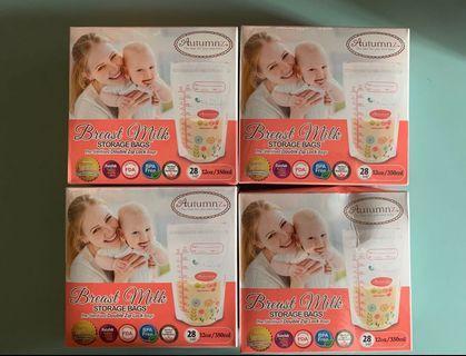 🚚 Autumnz breast milk storage 350ml