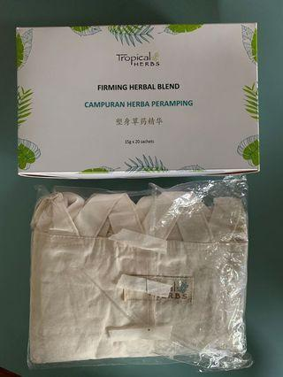 🚚 Firming herbal blend with corset