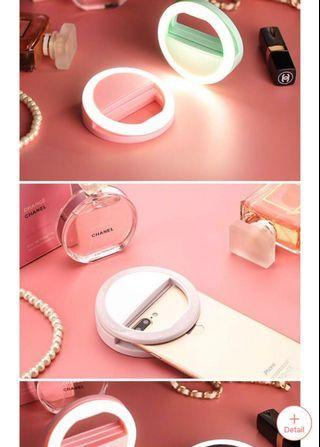 PINK LED Beauty Selfie Ring Light