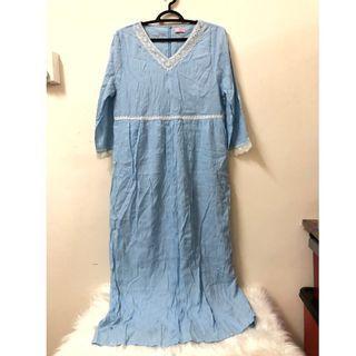 Blue Dress Cotton