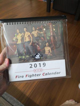 🚚 消防隊月曆和桌曆