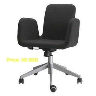 Ikea Rolling Desk Chair - Patrik Swivel