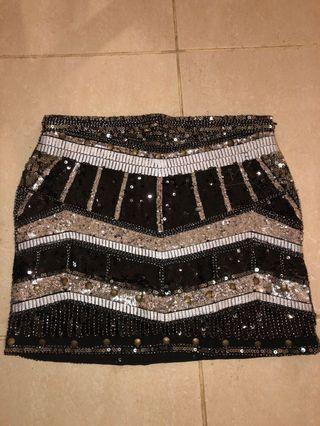Gingham & Heels skirt