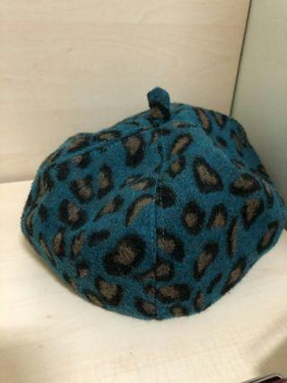 豹紋貝雷帽