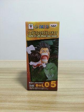 日版全新 海賊王WCF 蛋糕島BOL05 四檔路飛 One Piece Battle of Luffy Whole Cake Island Luffy