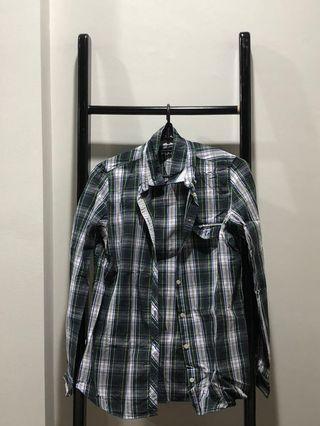 Used Ladies Zara Checkered Skirt