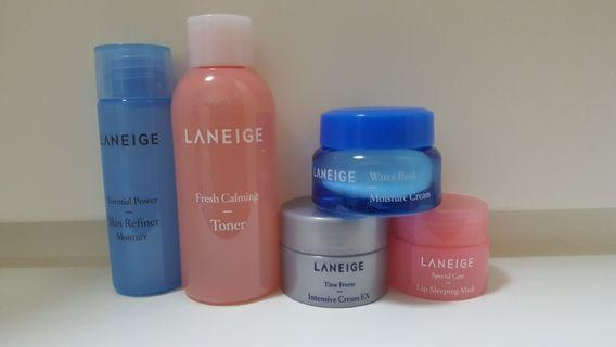 Laneige Sample (5pcs) Skin Care