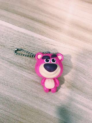 🚚 Toy story Lots-o'-Huggin' Bear Keychain