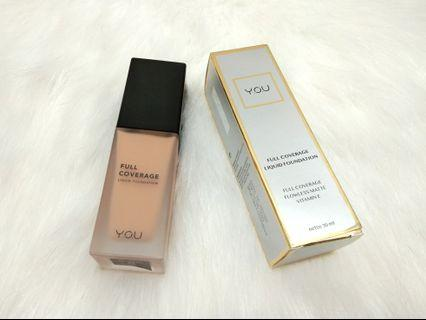 YOU Liquid Foundation Full Coverage Natural