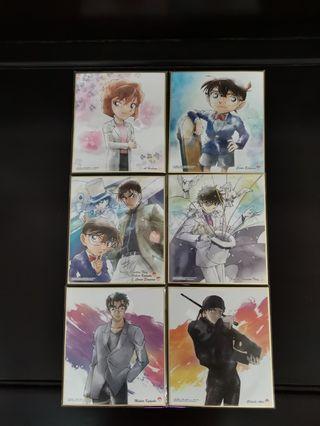 Detective Conan Shikishi Art
