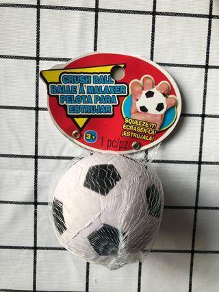 Rare crush ball soccer squishy