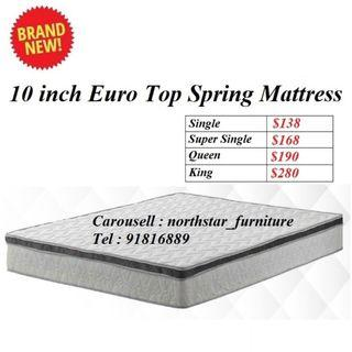 10inch Spring Mattress