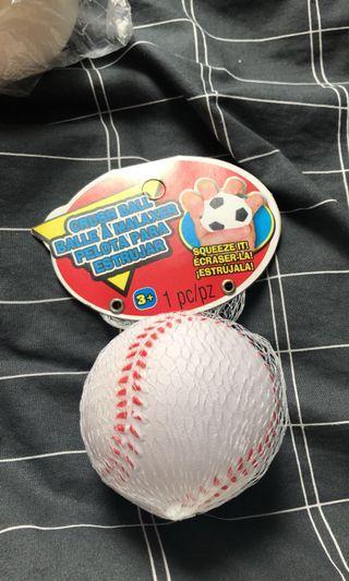 Rare crush ball baseball squishy