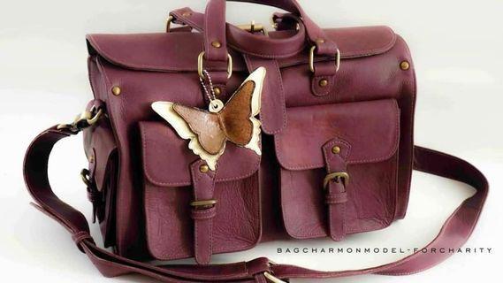 Harga asli 1jt. Full leather, like new!