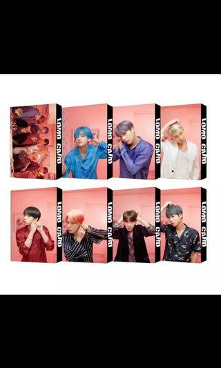 [#166 PO] BTS MOTS Persona lomo cards
