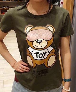 Moschino underwear tee t-shirt