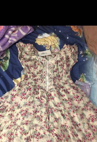 Floral dress, no bargaining