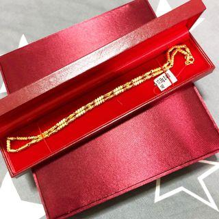 Classic Design 999 Gold Necklace 31.39gm