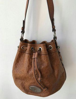 Fossil Bucket Dra wstring Bag