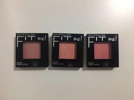 Maybelline FITme! Blushes
