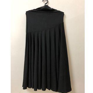 Black skirt Lycra SA229
