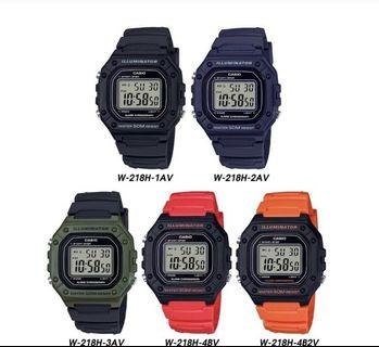 Casio Unisex Watch! BNIB!! 5 colors!!