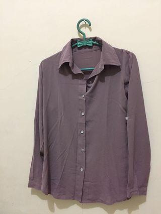 #BAPAU Plum Shirt