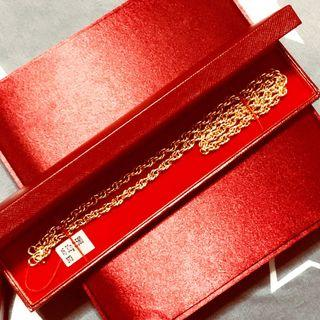 Classic Rope 999 Gold Chain Necklace 46.30gm