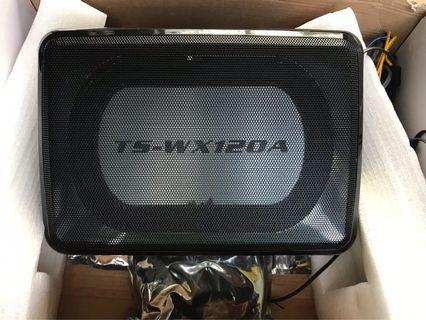 Pioneer car Under seat subwoofer