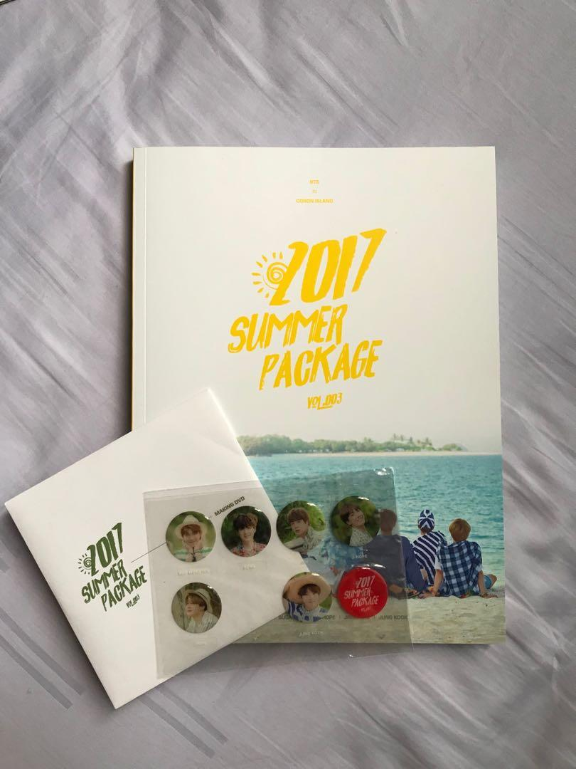 2017 summer package