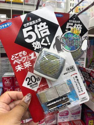 🌀日本 VAPE 攜帶型電子式驅蚊手帶🌀🚫🦟