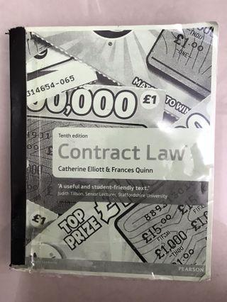 CONTRACT LAW TEXTBOOK BY CATHERINE ELLIOTT & FRANCES QUINN